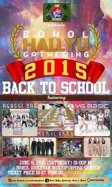 Kpop Hallyu Gathering Poster