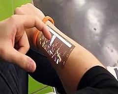Cicret brecelet Mobile