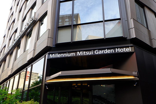 Yolanda Nthomas Millennium Mitsui Garden Hotel Tokyo