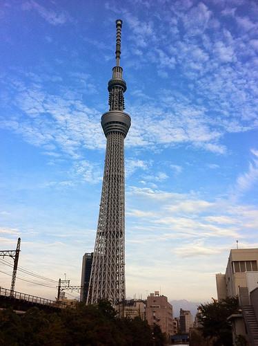Hype in Tokyo Sky Tree