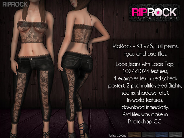 RipRock - Kit psd files V78  POSTER