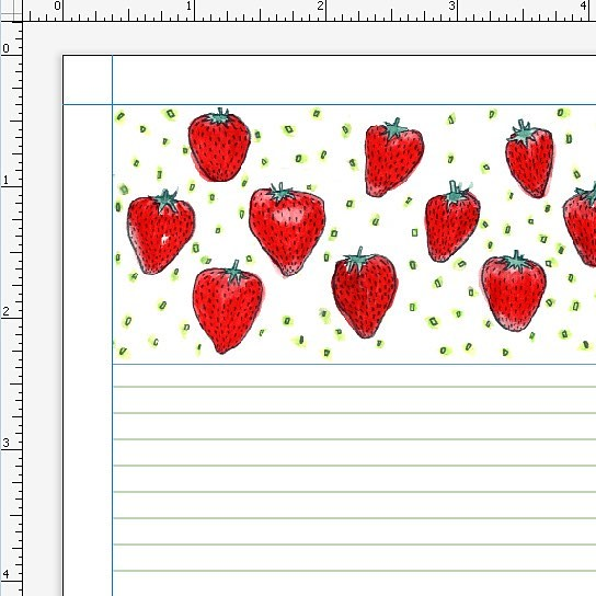 I'm revisiting this strawberry pattern from last year for day 25/100. I also added it to #society6 and spent tons of time to make the pattern work for leggings but then wasn't really happy with it, so I pulled it. #robayre #robayre100days #The100DayProjec