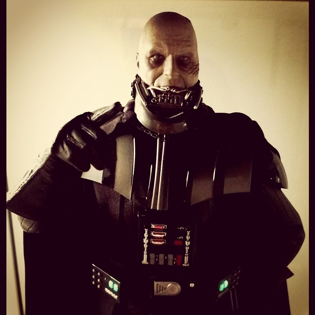 May the Fourth be with you! #starwars #starwarsmalaysia #geekshavethemostfun #darthvader #onesixthscale