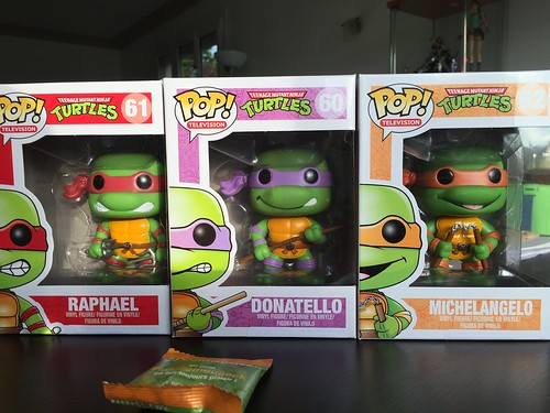 POP! Tortues Ninja - Boxed