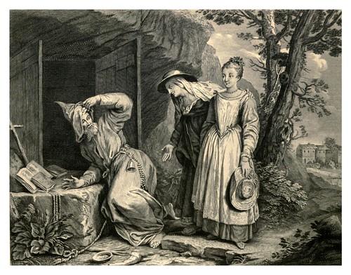 014- El Hermitaño-Tales and Novels in verse- Vol 2-1896- Ilust. Charles Eisen