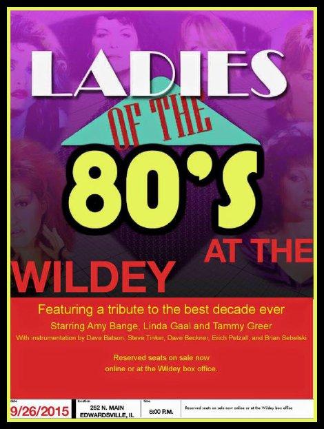Ladies of the 80s 9-26-15