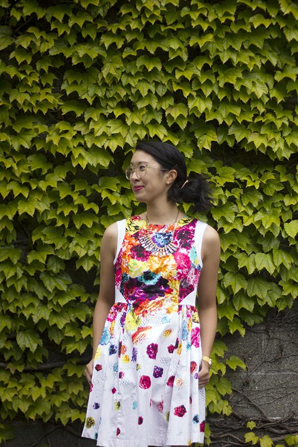Prabal Gurung for Target fit & flare floral dress