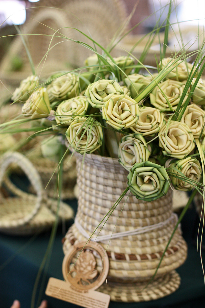 Sweetgrass roses