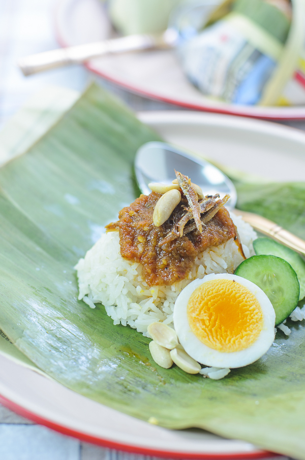 Coconut Rice with anchovies