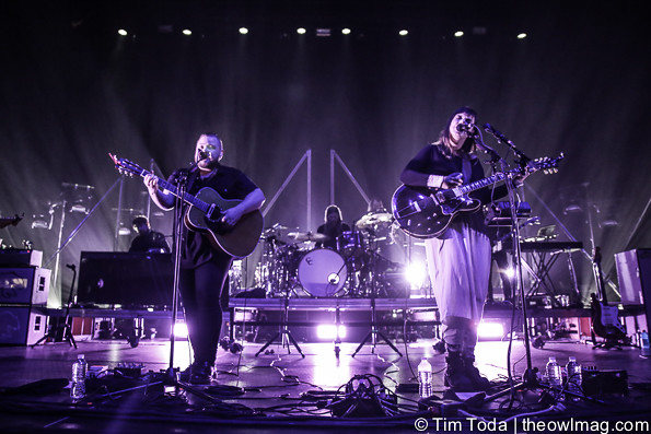 Of Monsters and Men @ Hammerstein Ballroom, NYC 5/7/2015