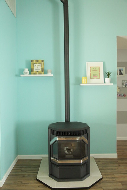 Our New Pellet Stove