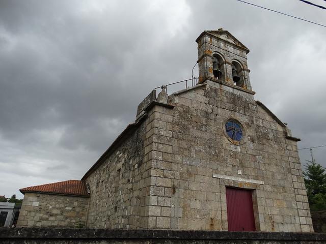 Iglesia de San Ciprián de Brives en Cambre