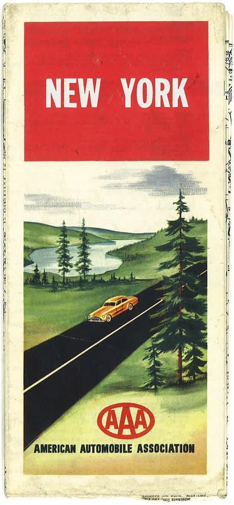 NY map 1950 cover