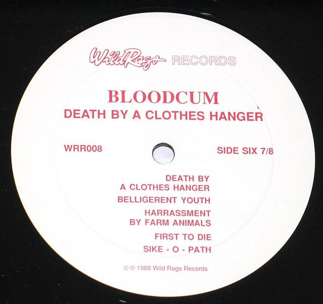 Bloodcum Death By A Clothes Hanger