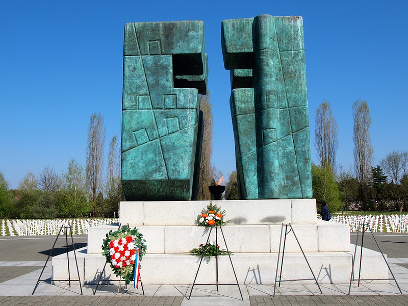 War Memorial in Vukovar, Croatia