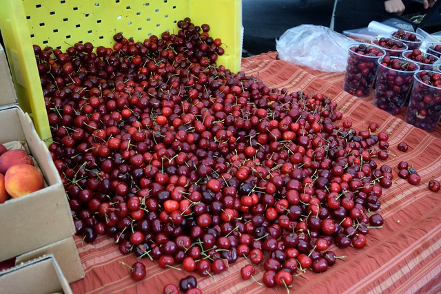 California Cherries at Venice Beach Farmers Market