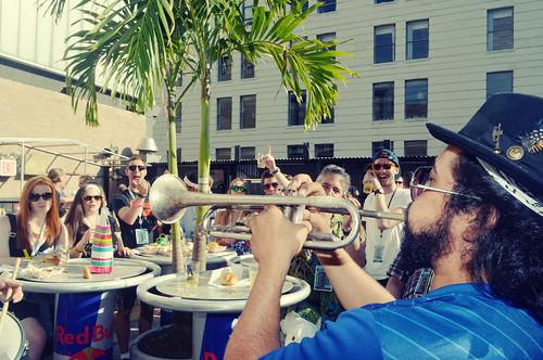 Sunshine Social Club Performs for Bar13_Photo Credit Christos Katsiaouni