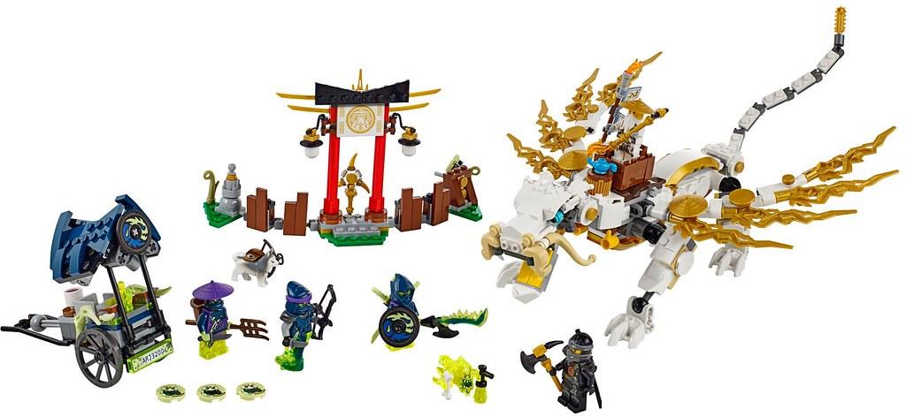 LEGO Ninjago 2015: 70734 - Master Wu Dragon