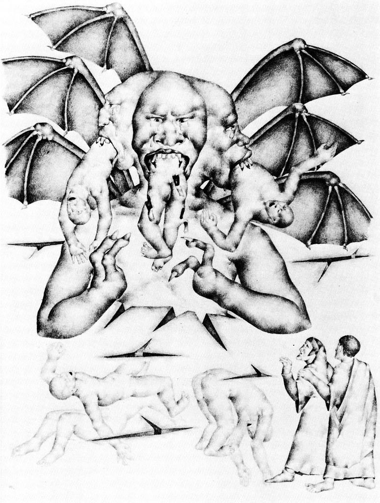 Otto Neumann - Divine Comedy (Satan) 1927-28
