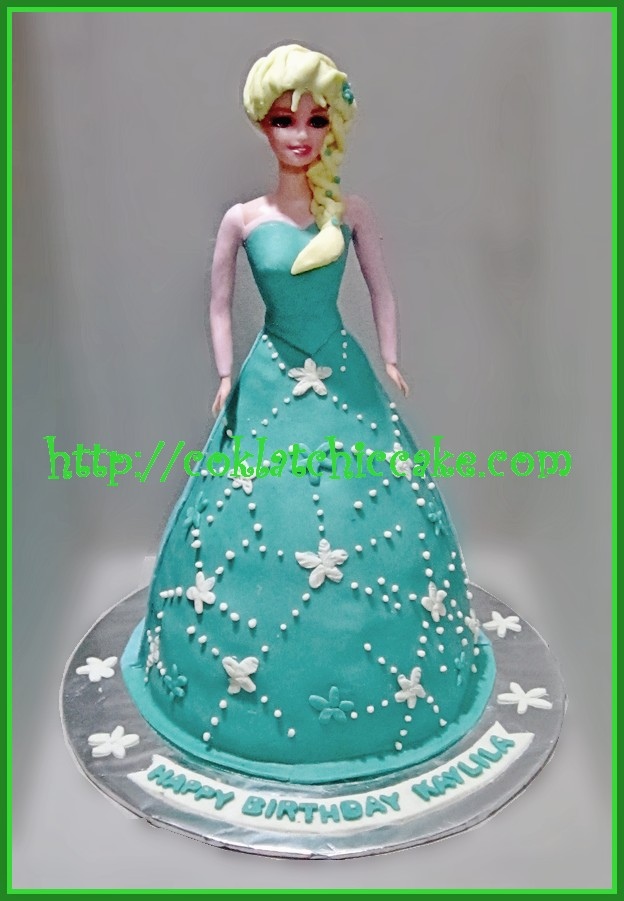 Cake Frozen Disney (Cake Barbie)