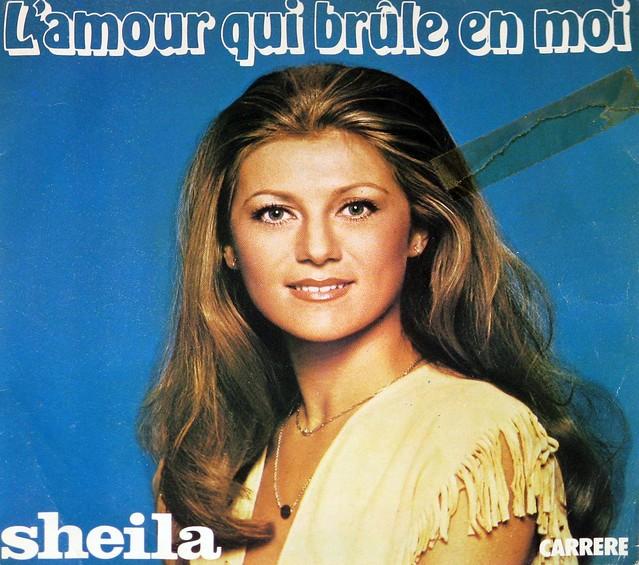 Sheila - L'Amour Qui Brule en Moi / La Voiture