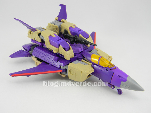 Transformers Blitzwing Voyager - Generations - modo Jet