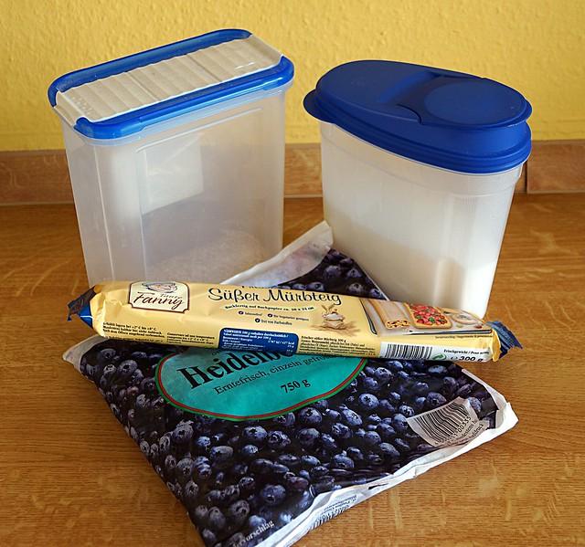 Blaubeerkuchen Zutaten