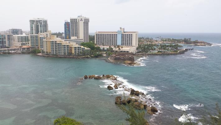 San Juan Condado bay