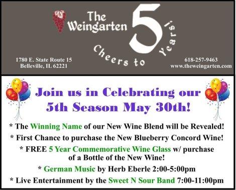 Weingarten 5-30-15
