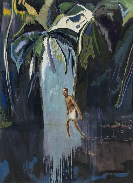 Peter Doig, Pelican (Stag), 2003, Oil on canvas