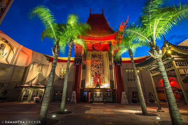 Disney's Grauman's at Night