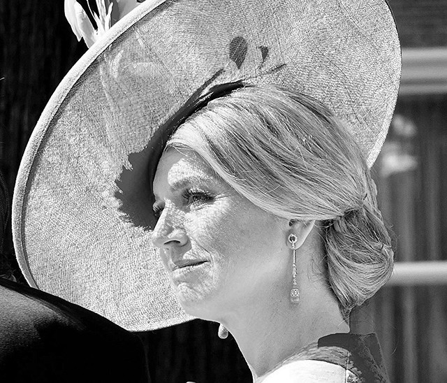 Koningin Maxima. Queen Maxima of the Netherlands
