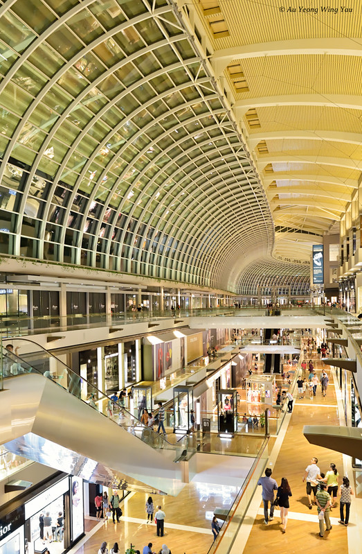 Singapore MBS Mall Interior 1