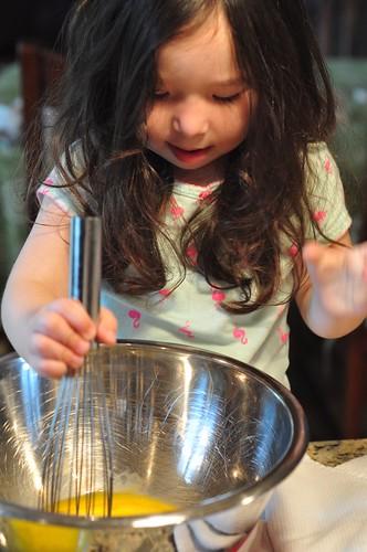 Ellie cooking