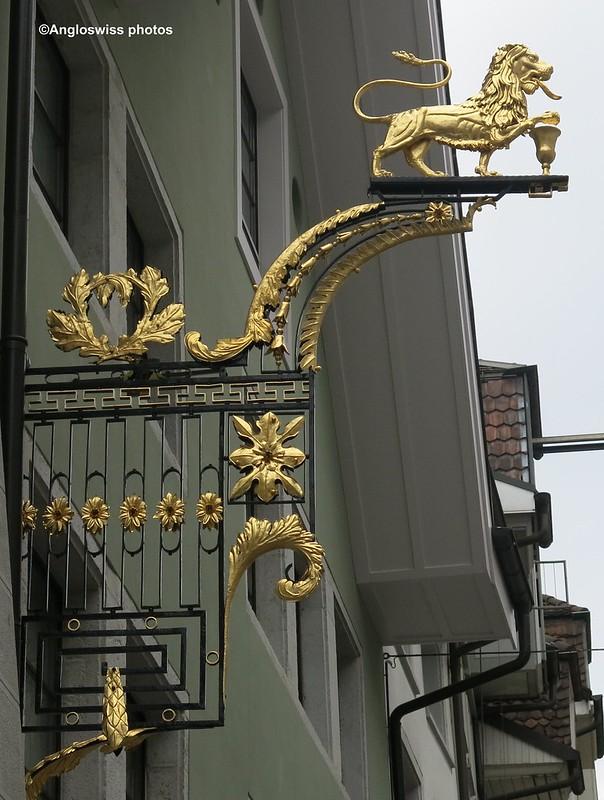 Solothurn Altstadt, restaurant Leu