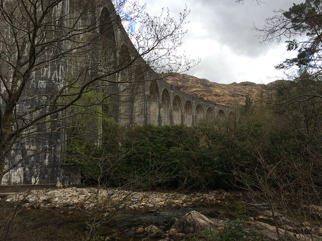Glenfinnan Viaduct // The Hogwarts Express bridge
