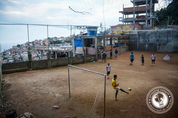 Soccer Game in Vidigal Rio de Janeiro