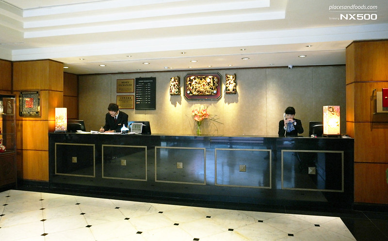 riverview hotel taipei front desk
