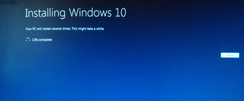 How to instal windows 10 step 8
