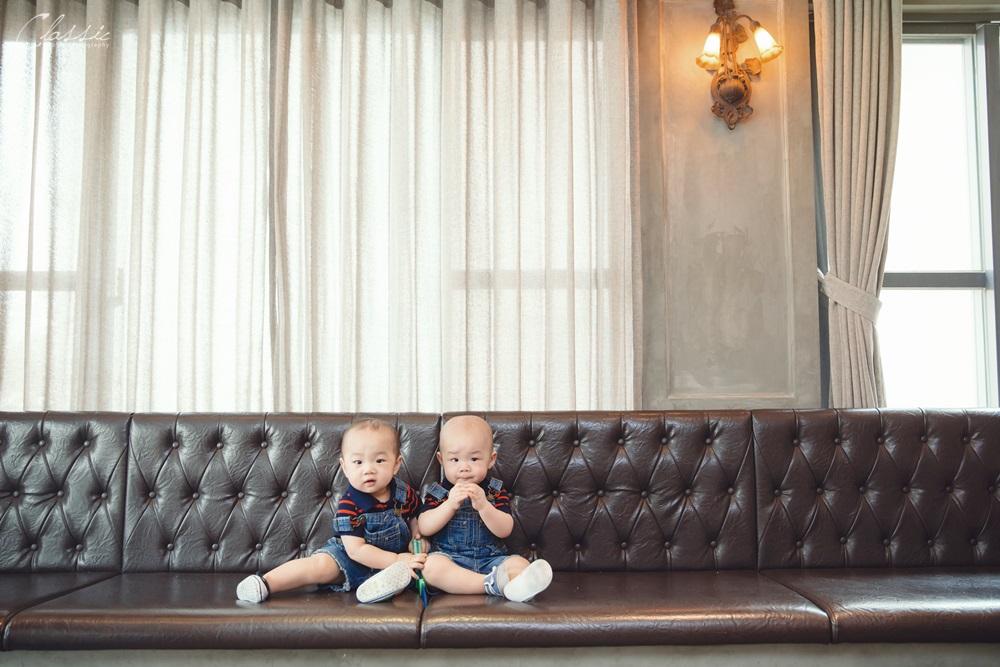 親子寫真攝影雙胞胎寶寶合照攝影師