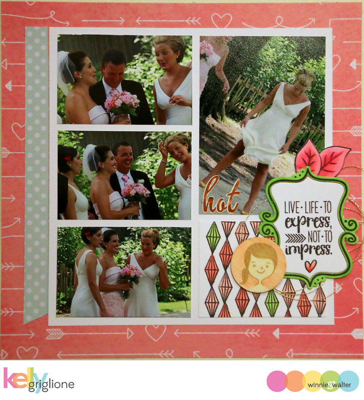 kelly_Wedding Shower Recipe Scrapbook 3