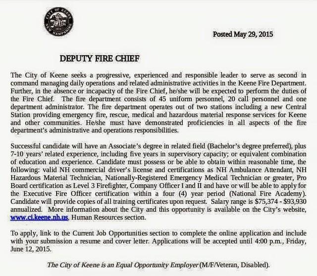 KFD Deputy Posting