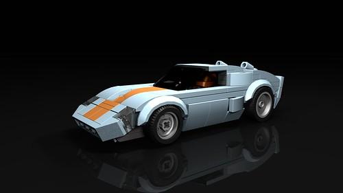 LEGO SC GT40 custom