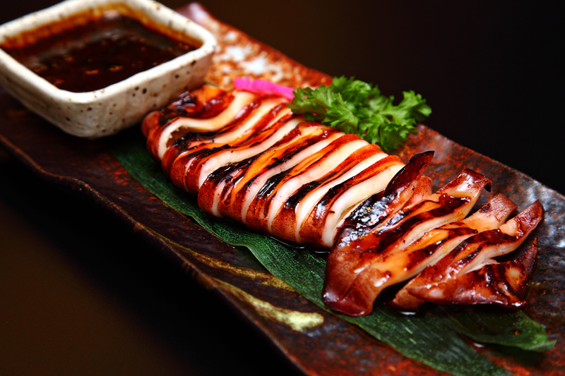 Grilled-Japanese-Squid