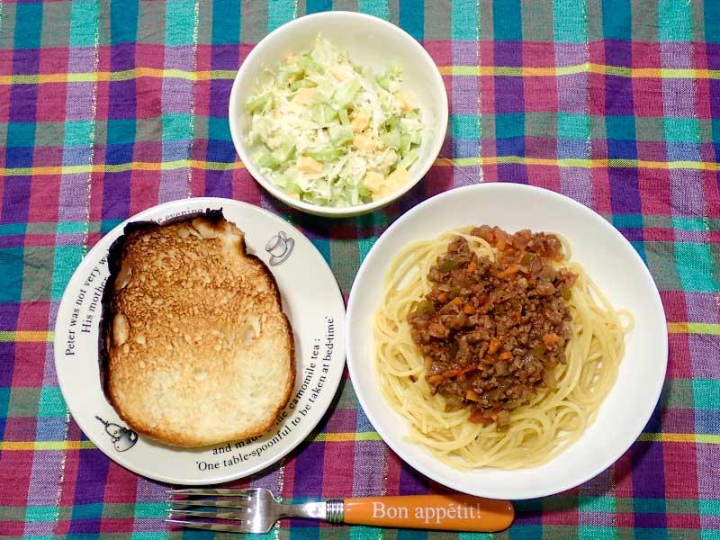 2015年6月2日の晩ご飯