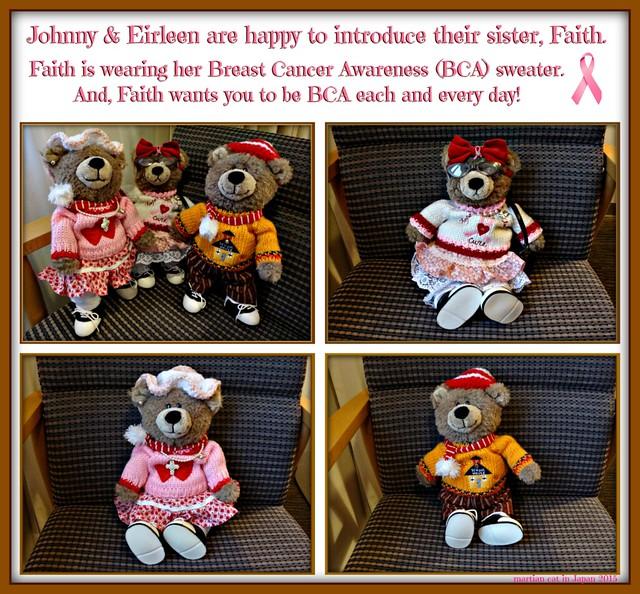 Johnny & Eirleen are happy to introduce their sister, Faith.
