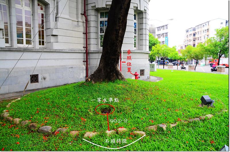 台南市政府一等水準點相對位置圖