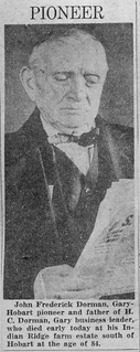 John Dorman circa 1944.