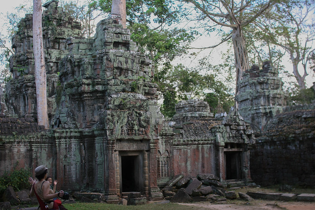 Ta Prohm piramides 3