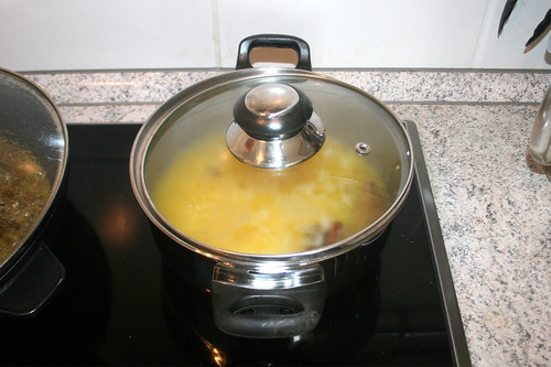 43 - Reis köcheln lassen / Let rice simmer